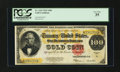 Large Size:Gold Certificates, Fr. 1215 $100 1922 Gold Certificate PCGS Very Fine 35....