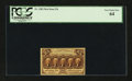 Fractional Currency:First Issue, Fr. 1282 25¢ First Issue PCGS Very Choice New 64....