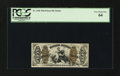 Fractional Currency:Third Issue, Fr. 1366 50¢ Third Issue Justice PCGS Very Choice New 64....