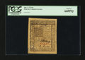 Colonial Notes:Delaware, Delaware January 1, 1776 6s PCGS Gem New 66PPQ....