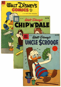 Dell Walt Disney-Related Comics Group (Dell, 1960s) Condition: Average VG.... (Total: 13 )