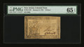 Colonial Notes:New Jersey, New Jersey January 9, 1781 9d PMG Gem Uncirculated 65 EPQ....