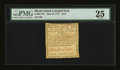 Colonial Notes:Rhode Island, Rhode Island May 22, 1777 $1/6 PMG Very Fine 25....