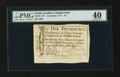 Colonial Notes:North Carolina, North Carolina December, 1771 £5 PMG Extremely Fine 40....