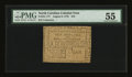 Colonial Notes:North Carolina, North Carolina August 8, 1778 $10 PMG About Uncirculated 55....