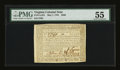 Colonial Notes:Virginia, Virginia May 7, 1781 $500 PMG About Uncirculated 55....