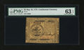 Colonial Notes:Continental Congress Issues, Continental Currency May 10, 1775 $5 PMG Choice Uncirculated 63EPQ....