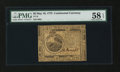 Colonial Notes:Continental Congress Issues, Continental Currency May 10, 1775 $6 PMG Choice About Unc 58EPQ....