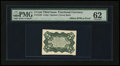 Fractional Currency:Third Issue, Milton 3E5R.1a 5¢ Third Issue Bristol Board Green Back PMG Uncirculated 62....