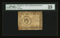 Colonial Notes:Continental Congress Issues, Continental Currency April 11, 1778 $8 PMG Very Fine 25....