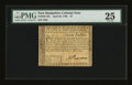 Colonial Notes:New Hampshire, New Hampshire April 29, 1780 $7 PMG Very Fine 25....