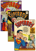 Silver Age (1956-1969):Superhero, Superboy #70, 74, and 79 Group (DC, 1958-59).... (Total: 3 )