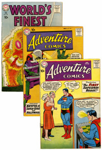 DC Golden and Silver Age Group (DC, 1950s-'60s) Condition: Average VG/FN.... (Total: 7 )