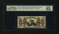 Fractional Currency:Third Issue, Fr. 1368 50¢ Third Issue Justice PMG Gem Uncirculated 65 EPQ....