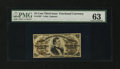 Fractional Currency:Third Issue, Fr. 1297 25¢ Third Issue PMG Choice Uncirculated 63....
