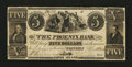 Obsoletes By State:Rhode Island, Westerly, RI- The Phoenix Bank $5 Aug. 16, 1840 A20 Durand UNL. ...
