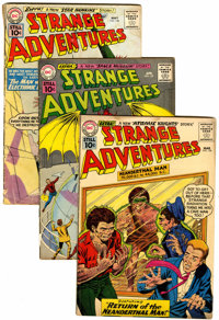 Strange Adventures Box Lot (DC, 1960-73) Condition: Average VG+