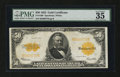 Large Size:Gold Certificates, Fr. 1200 $50 1922 Gold Certificate PMG Choice Very Fine 35 EPQ....