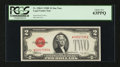 Small Size:Legal Tender Notes, Fr. 1506* $2 1928E Legal Tender Note. PCGS Choice New 63PPQ.. ...