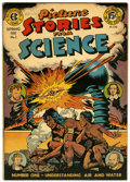 Golden Age (1938-1955):Non-Fiction, Picture Stories from Science #1 (EC, 1947) Condition: VF-....
