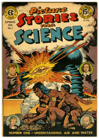Picture Stories from Science #1 (EC, 1947) Condition: VF-
