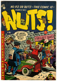 Nuts! #1 (Premiere Comics Group, 1954) Condition: VF