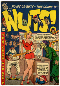 Nuts! #3 (Premiere Comics Group, 1954) Condition: VF+