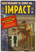 Golden Age (1938-1955):Horror, Impact #1 (EC, 1955) Condition: FN/VF....