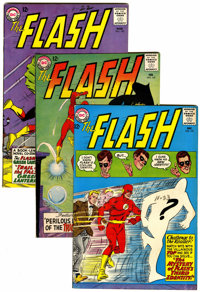 The Flash Group (DC, 1963-73).... (Total: 7 Comic Books)