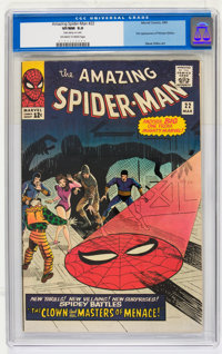 The Amazing Spider-Man #22 (Marvel, 1965) CGC VF/NM 9.0 Off-white to white pages