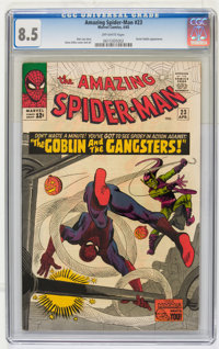 The Amazing Spider-Man #23 (Marvel, 1965) CGC VF+ 8.5 Off-white pages