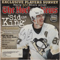 Autographs:Others, Sidney Crosby Signed The Hockey News Magazine....