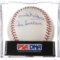 Autographs:Baseballs, 300 Win Club Multi Signed Baseball....
