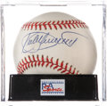 Autographs:Baseballs, Kirby Puckett Single Signed Baseball, PSA Mint 9. ...