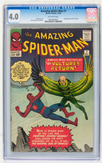 The Amazing Spider-Man #7 (Marvel, 1963) CGC VG 4.0 Off-white pages