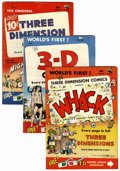 Golden Age (1938-1955):Miscellaneous, Miscellaneous Golden Age 3-D Comics Group (St. John, 1950s).... (Total: 4 Comic Books)