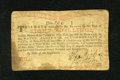 Colonial Notes:New York, New York August 25, 1774 (Water Works) 8s Very Fine....