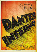 "Movie Posters:Drama, Dante's Inferno (Fox, 1935). Swedish One Sheet (27.5"" X 39.5"")...."