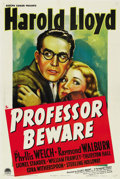 """Movie Posters:Comedy, Professor Beware (Paramount, 1938). One Sheet (27"""" X 41""""). ..."""