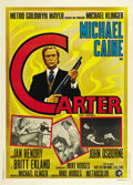 "Movie Posters:Crime, Get Carter (MGM, 1971). Italian 2 - Folio (39"" X 55""). Crime...."