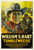 "Movie Posters:Western, Tumbleweeds (United Artists, 1925). One Sheet (27"" X 41""). ..."