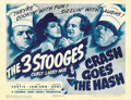 """Movie Posters:Comedy, Crash Goes the Hash (Columbia, 1944). Title Lobby Card (11"""" X 14"""")...."""