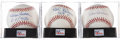 Autographs:Baseballs, Hall of Fame Pitchers Single Signed PSA-Graded Baseballs Lot of3.... (Total: 3 card)