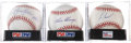 Autographs:Baseballs, Hall of Fame Relief Pitchers Single Signed PSA-Graded Baseballs Lotof 3.... (Total: 3 items)