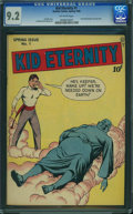 Golden Age (1938-1955):Superhero, Kid Eternity #1 (Quality, 1946) CGC NM- 9.2 Off-white pages.