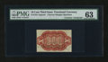 Fractional Currency:Third Issue, Fr. 1251SP 10¢ Third Issue Courtesy Autograph PMG Choice Uncirculated 63....