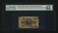 Fractional Currency:Third Issue, Fr. 1254SP 10¢ Third Issue PMG Choice Uncirculated 63....
