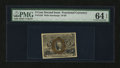 Fractional Currency:Second Issue, Fr. 1233 5¢ Second Issue PMG Choice Uncirculated 64 EPQ....