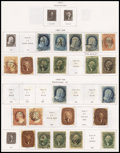 Stamps, U.S. Used Collection, 1851-1974,... (Total: 1 Album)