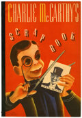 Memorabilia:Comic-Related, Charlie McCarthy's Scrap Book #631 (Whitman, c. 1930s)....